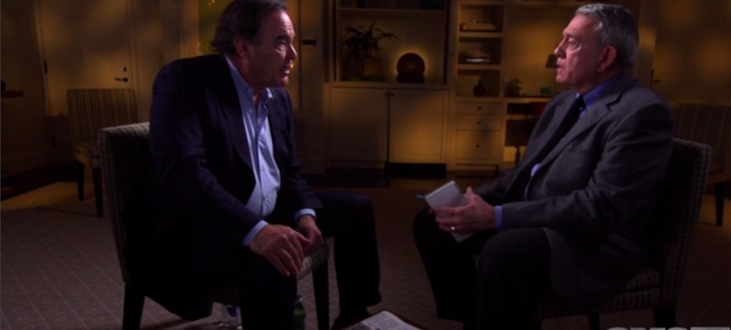 Oliver Stone Interview with Dan Rather