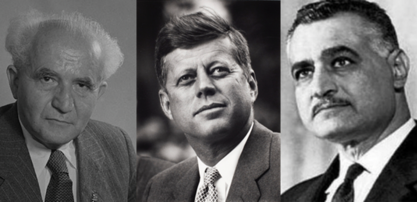 Nasser, Kennedy, the Middle East, and Israel