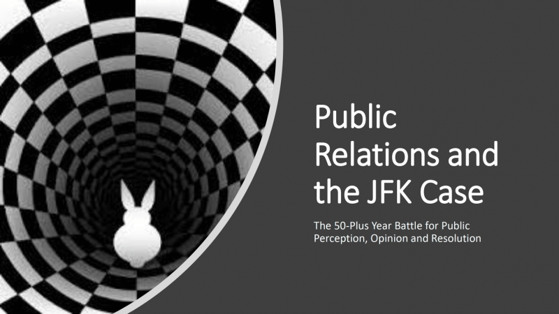 Public Relations and the JFK Case