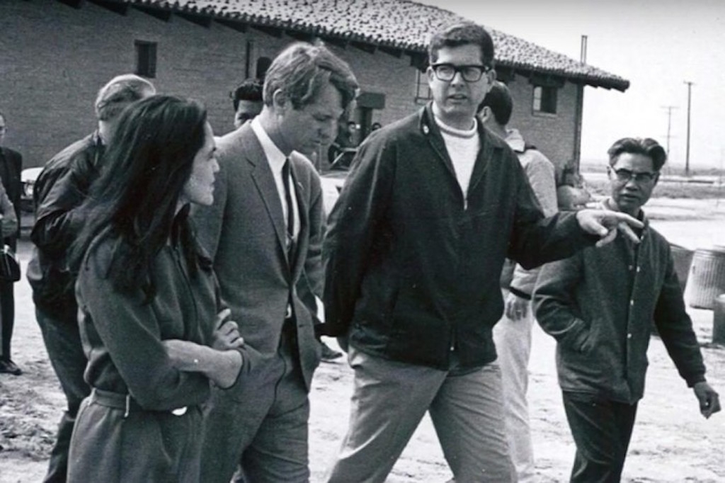 Robert F. Kennedy and Paul Schrade with  Dolores Huerta