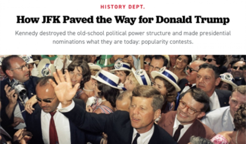 Trump and Kennedy? Is Politico for Real?