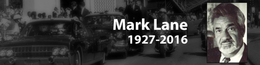 The Death of Mark Lane