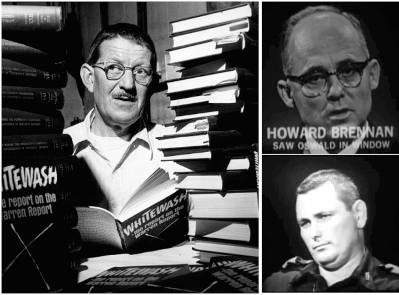 Harold Weisberg on Howard Brennan and Marrion Baker