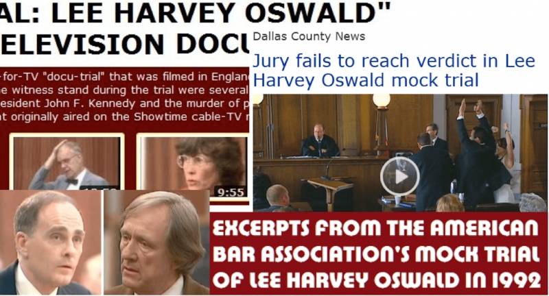 The 2017 Houston Mock Trial of Oswald