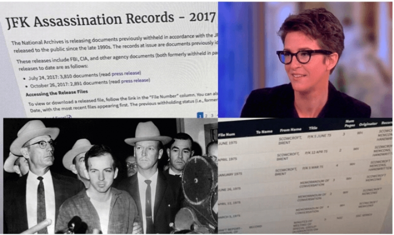 Rachel Maddow, JFK and Easy Money