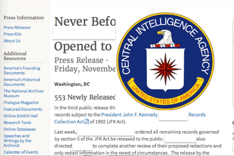 The Intelligence Community Flips Off America